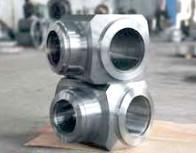 Buy cheap Valve Body Forging, Welded Steel Pipe Fittings, Heavy Forged Valves AISI 4140 product