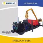 Buy cheap Europen Standard Scrap Mobile Car Baler/Car Body Crsuh Press Baler Machine from wholesalers