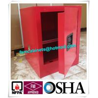 Buy cheap Flame Proof 4 Gallon Paint Storage Cabinets For Corrosive Combustible Liquid product