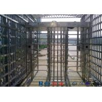 Buy cheap Double Passage Controlled Access Turnstile Rapid Identification For Stadium from wholesalers