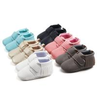 Buy cheap New style microfiber Leather PU Tassel Casual outdoor infant shoes for baby from wholesalers