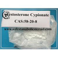 Buy cheap Assay 99% Testosterone Cypionate Testosterone Steroid Hormone / CAS 58-20-8  MFC27H40O3 from wholesalers