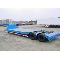 Buy cheap Swivel Axles Low Bed Semi Trailer For Heavy Machine Transport 30T-150T from wholesalers