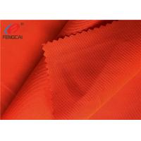China Worker Wear Fluorescent Material Fabric Shrink - Resistant Polyester Uniform Fabric on sale