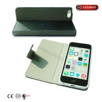 Buy cheap Personalized Stand Leather Cell Phone Covers Flip Covers For Iphone 5 from wholesalers