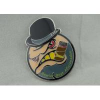 Buy cheap Die Stamping Soft Enamel Pin  Iron Material And Silk Screen Printing from wholesalers