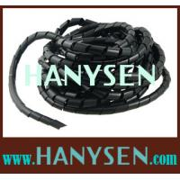 Buy cheap Plastic Spiral Wrapping Band For Electric Wire Protection from wholesalers