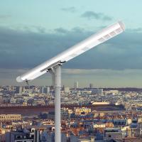 Buy cheap High Efficiency All in One 50 Watt Solar LED Street Light has Waterproof Rate from wholesalers