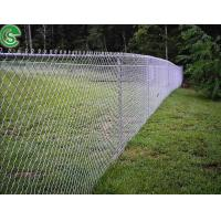 Chain link fence complete system wire security