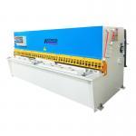 Buy cheap CNC sheet metal cutting machine/hydraulic shearing machine QC12y 4x4000 from wholesalers