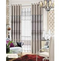 Buy cheap Polyester Jacquard Window Curtain Luxury Ready Made Curtains for Hotel , Cafe , Office , Club product