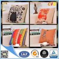 Buy cheap Black / Red / Blue  Home Textile Products Decorative Cushion Cover product