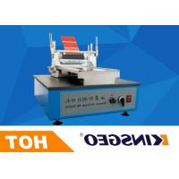 Buy cheap 220V 50Hz 120W Printing Coating Testing Machines With Micrometer Control with Weight 26KG from wholesalers