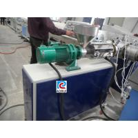 Buy cheap Conical Double Screw Extruder PVC Conduit Pipe Making Machine , CSA from wholesalers