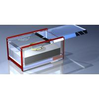 Buy cheap Customized Crystal Acrylic Storage Boxes , Perspex Jewelry Display Box product
