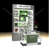 Buy cheap Manufacturing customized acrylic cosmetic display acrylic cosmetic display showcase from wholesalers