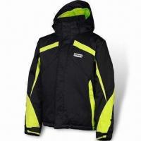 Buy cheap Ski Jacket, Made of Durable Nylon Fabric, Water-resistant from wholesalers