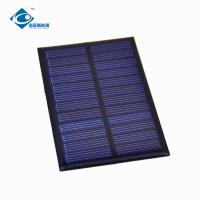 Buy cheap 0.65 6Volt chinese solar panel price for radio ZW-8960 transparent solar panel photovoltaic for portable solar charger product