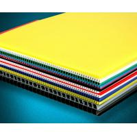 Buy cheap PP Hollow Corrugated Plastic Sheet Coroplast For Floor Covering from wholesalers