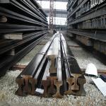 Buy cheap standard Light railway steel rail (5kg--30kg) from wholesalers