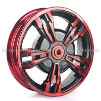 Buy cheap BWS Scooter Parts Motorcycle Front Wheel / Motorbike Wheel Rims from wholesalers