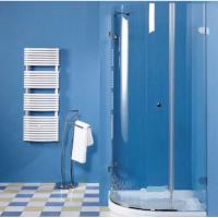 Curved Tempered Safety Glass 6mm 8mm as Shower Enclosure , toughened safety glass