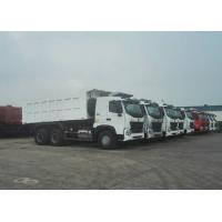 Buy cheap SINOTRUK HOWO A7 6X4 Dump Truck Heavy Duty Truck , Tandem Axle Dump Truck Max Speed 75 Km from wholesalers