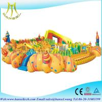 Buy cheap Hansel Big Inflatable Water Park Equipment, Giant Inflatable Water Games for Adult from wholesalers