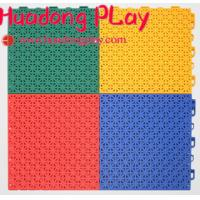 Buy cheap Superior Playground Floor Mats Suspended Sports Interlocking Low Maintainance from wholesalers