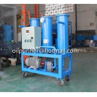 Buy cheap Portable Movable Oil Filtration Machine, Used Oil Filtering Skid with SIEMENS motor and hour meter from wholesalers