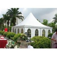 Buy cheap Outdoor High Peak Frame Tent 850 G / Sqm Pvc Roof Fabric Easy Maintain from wholesalers