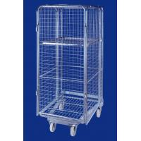 Buy cheap Metal Foldable wheeled Security Roll Container from wholesalers