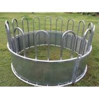 Buy cheap Galvanized Steel Tube Material Cattle Corral Panels , Galvanized Hay Feeder For Sheep / Cattle from wholesalers
