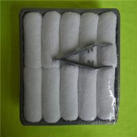 Buy cheap 100% Cotton plain white terry towel airline towel from wholesalers