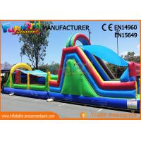 Buy cheap Kids Inflatable Obstacle Course Bounce House Fire Retardant And Water - Proof from wholesalers