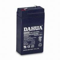 Buy cheap 6V, 3.2Ah Sealed Rechargeable Battery with Quick Connector Terminal from wholesalers