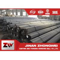 Buy cheap Highly hardness Grinding Rods 45# 60Mn B2 B3 steel round rods product
