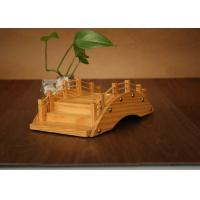 Buy cheap 100% Wooden Handmade Sushi Serving Bridge With Customized Printing Logo from wholesalers