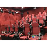 Buy cheap Electric / Pneumatic System 5D Movie Theater With 3 DOF Motion Chair In The Cinema Hall product