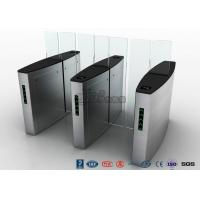 Buy cheap Stainless Steel Access Control Turnstiles , Sliding Turnstile Security Systems from wholesalers