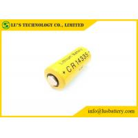 China Long Shelf Life 2 3 Aa Lithium Battery / Non Rechargeable Battery CR14335 800mah on sale