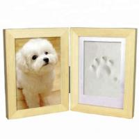 Buy cheap Pet memory photo frames, paw prints frame from wholesalers