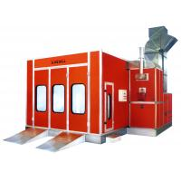 Buy cheap Electric Infrared Car Spray Booth , Vehicle Spray Painting Booths With 3-fold Door from wholesalers