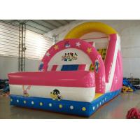 Buy cheap PVC Tarpaulin Kid Theme Bounce House With Water Slide For Amusement Park from Wholesalers