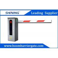 220V/110V Electronic Intelligent Car Parking Barrier Gate With Pressure Sensor