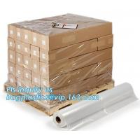 Buy cheap Outdoor pallet wrap wholesalers greenhouse coverings clear plastic hood protector, moisture proof reusable virgin plasti from wholesalers