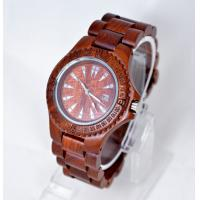 Buy cheap Custom bamboo Wooden Wrist Watch for women / quartz wooden watch from wholesalers