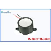 Buy cheap Mini Wire Magnetic Buzzer Speaker 28mm 85dB Built-in Drive Circuit  for Security Products from wholesalers