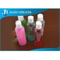 Buy cheap Custom Cylinderial PETG Plastic Bottles PP Material Suitable For Different Seasons from wholesalers