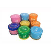 Buy cheap Rust - Proof Spice Packing Metal Tin Can With Plastic Lid 100g 200g Capacity from wholesalers